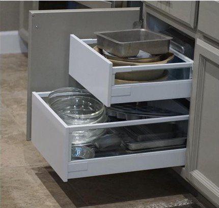 Ikea Kitchen Drawers, Ikea Cabinet Pull Out Storage