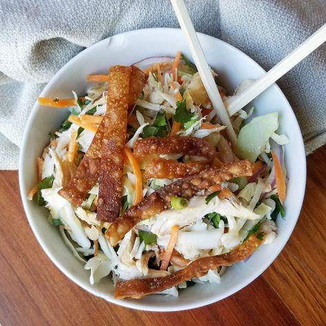 Chrissy Teigen's Chinese Chicken Salad - SO BOMB.