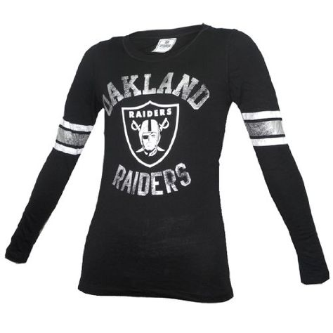 $28.99 awesome NFL Oakland Raiders Womens Pink Victoria's Secret Slim Fit Long Sleeve Shirt