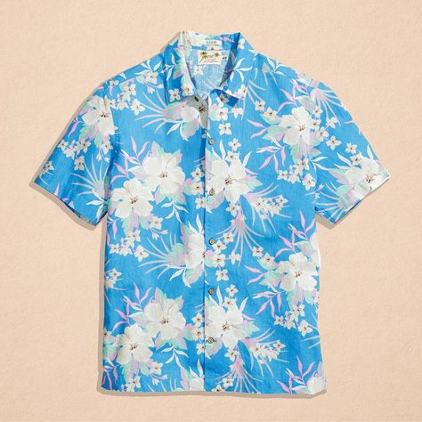 541c7e9f A cheerful friend this summer! Can you pull off the Hawaiian shirt?  #TheItem #HMMen #HM