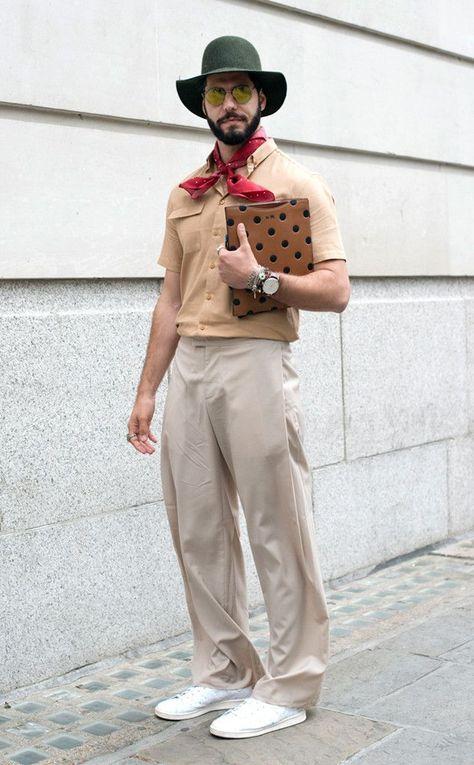 Kadu Dantas from Men's Fashion Week Street Style