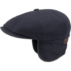 Buy Hatteras Earflap Flat Cap Flat cap for at Stetson´s officially licensed online shop.