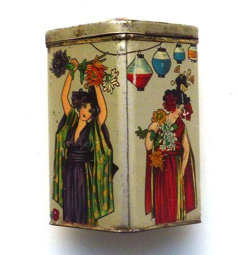 Riquet tea tin