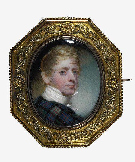 Andrew Robertson, 1777 - 1845.  (Self-portrait) 1811.