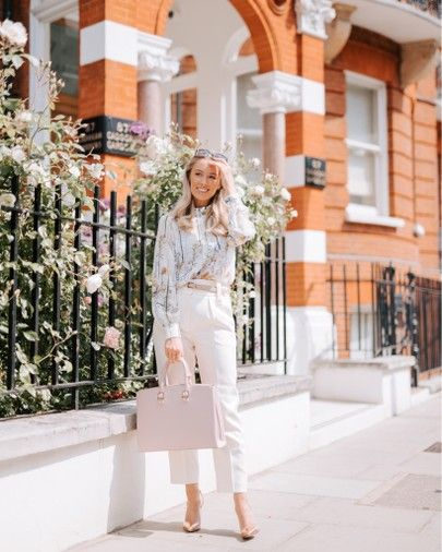 A chic workwear outfit finished off with a beautiful new bag from Aspinal! 🌸 #liketkit @liketoknow.it http://liketk.it/2BZWE #LTKitbag #LTKworkwear