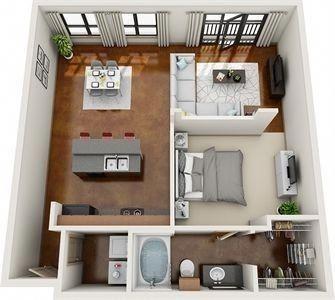 Planos Minimalisthousedesign Apartment Layout Houston Apartment Small House Plans