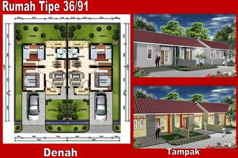 gambar sketsa rumah sederhana lengkap | rumah, desain