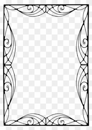 Art Nouveau Frames Art Nouveau Vector Frame Png Clipart Art Nouveau Clip Art Card Art
