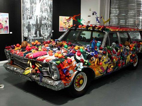 Art Car Museum >> Houston Tx The Art Car Museum Weird Cars Art Cars Car