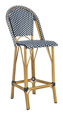 Mckenzie Barstool Navy White Now 194 50 Was 245 00 Wicker Decor Bar Stool Furniture Outdoor Bar Stools