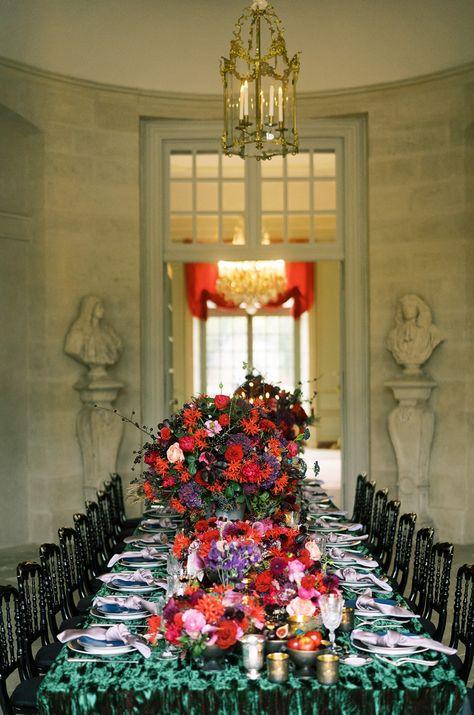 Luxury Wedding and Lifestyle Shoot at Chateau de Villette #weddingtable #tabledecor #tablesettings #weddinginfrance #destinationwedding #pariswedding #chateauwedding #francewedding #weddingideas