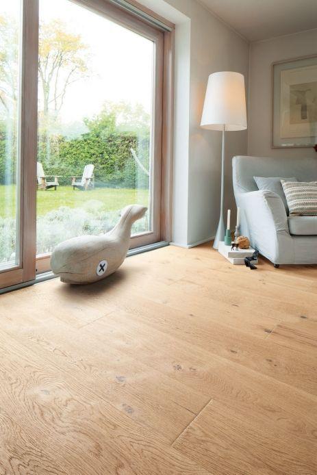 Haro Parkett Plank Plank 4000 Oak white Sauvage heavily structured 4V chamfer natural oiled  #heavily #parkett #plank #sauvage #structured #white