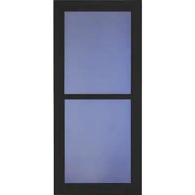 Larson Tradewinds Black Full View Aluminum Storm Door Common 36