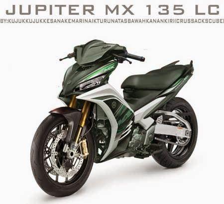 Modifikasi Jupiter Mx Tampilan Sporty Sangar Motor Motor