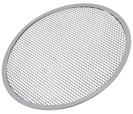 Update International Ps 12 Aluminum Pizza Screen 12 Inch Set Of 12 Review Pizza Pans Stones Pizza Pizza Bake Dining