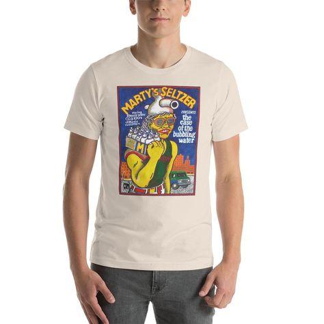 Marty's Seltzer T-Shirt - Soft Cream / S