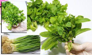 طريقة عمل عجينة القطايف في المنزل Leafy Vegetables Herbs Fresh Chives