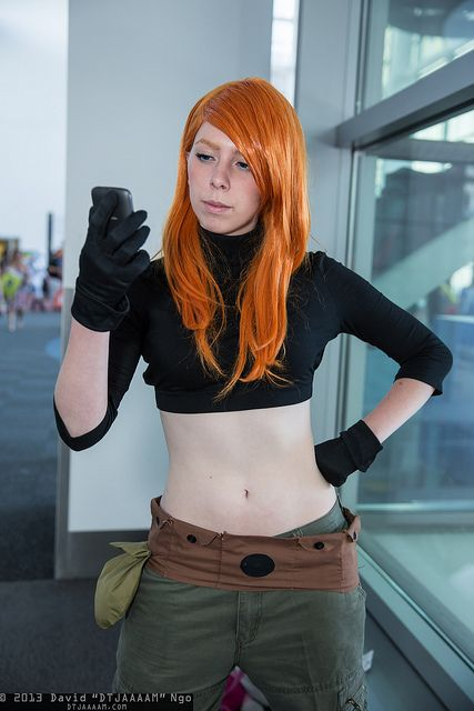 Kim Possible at Denver Comic Con 2013 ----definite possibility, but with a whole shirt.