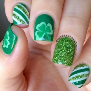 St Patricks Day Nail Art Allows You To Show Off How Much You Love