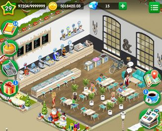 Mobile Game My Cafe Recipes Stories By Melsoft Games World Cooking Game 1 Open Your Own Cafe And Lead It To Success Unlock New Recipes Buy Cool Coffe