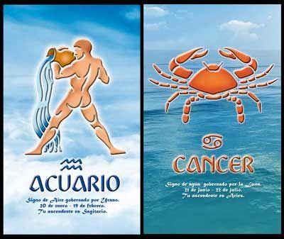 Aquarius and Cancer Compatibility