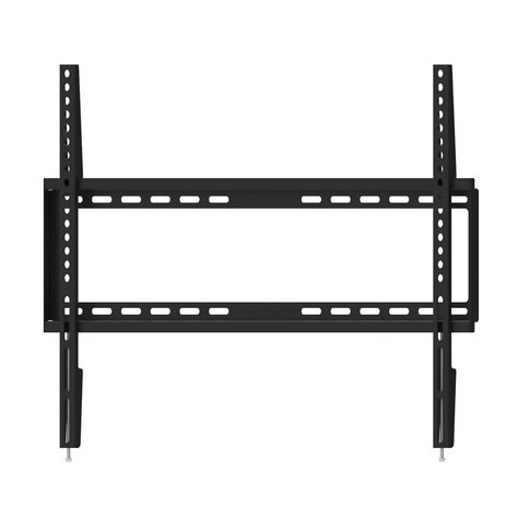 Monster Mounts Large Flat Tv Wall Mount For 42 In 75 In Black
