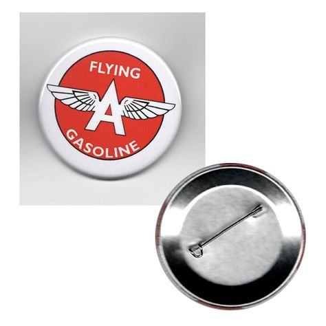 classic FLYING A GASOLINE full backed refrigerator MAGNET
