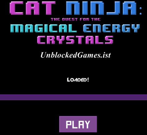Play Cat Ninja unblocked for free at Unblocked Games !   İo