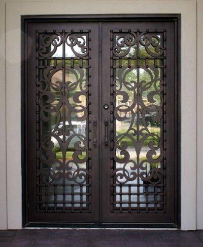 Legacy-110 - Wrought Iron Doors Windows Gates \u0026 Railings from Cantera Doors | Doors | Pinterest | Railings Wrought iron and Gates & Legacy-110 - Wrought Iron Doors Windows Gates \u0026 Railings from ... Pezcame.Com