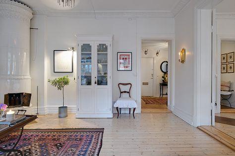 Swedish Apartment Design urban-country-style-swedish-apartment-design-country-style