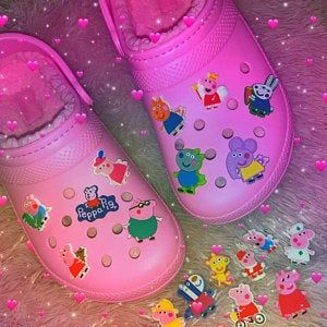 PVC Shoe Charms for your Crocs
