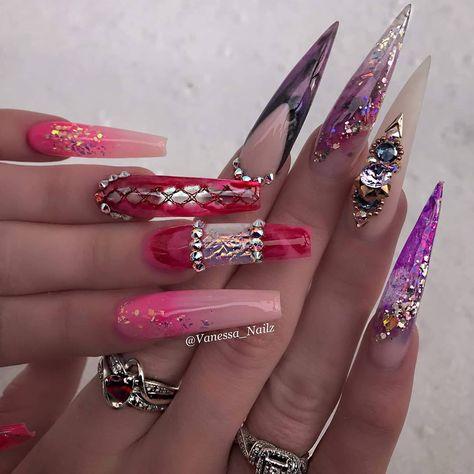 Beauty work by @vanessa_nailz #jasnail #jasnailsart #jasnails #jasnailsupply #nail2inspire #nailsofinstagram #nailart #naildesigns…