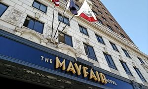 The Mayfair Hotel - Los Angeles, CA | <3Penguin | Cafe style