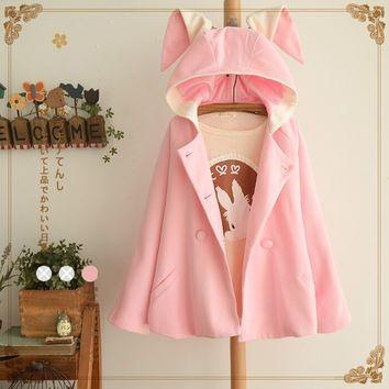 Cute sweet owl sweater Cute Kawaii Harajuku Fashion Clothing - clothing sponsorship