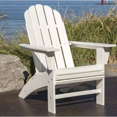 Vineyard Curveback Resin Adirondack Chair