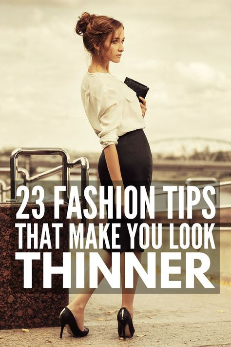 How To Dress To Look Thinner 23 Slimming Fashion Tips That Work