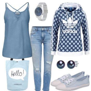 Bluepoint Damen Outfit Komplettes Freizeit Outfit günstig