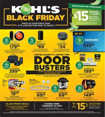 Walmart Black Friday Ad For 2018 Blackfriday Com Kohls Black Friday Black Friday Ads Jcpenney Black Friday