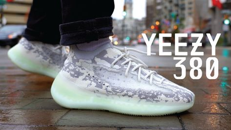 Adidas YEEZY Boost 380 Alien REVIEW & ON FEET YouTube