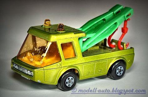 Mein Blog über Modellautos: Lesney Matchbox Toe Joe No 74 England 1972 Green