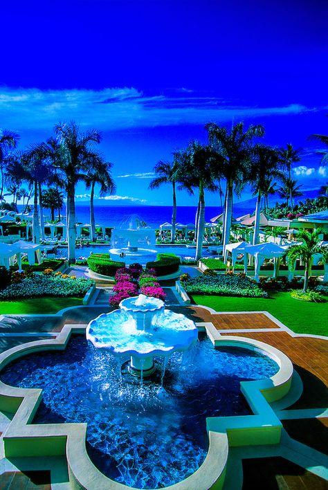 Four Seasons Wailea Hotel, Wailea, Maui, Hawaii