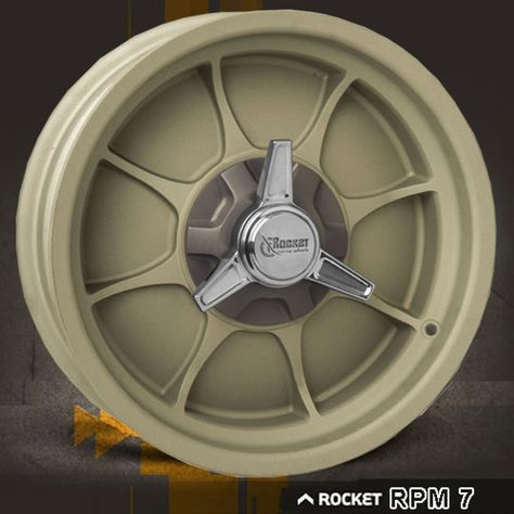 Rpm 7 Free Shipping From Selected Rocket Dealers Racing Wheel Wheel Car Wheel