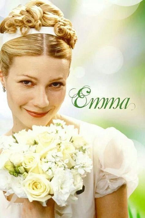Gwyneth Paltrow as Emma Woodhouse and Jeremy Northam as Mr. Knightley.