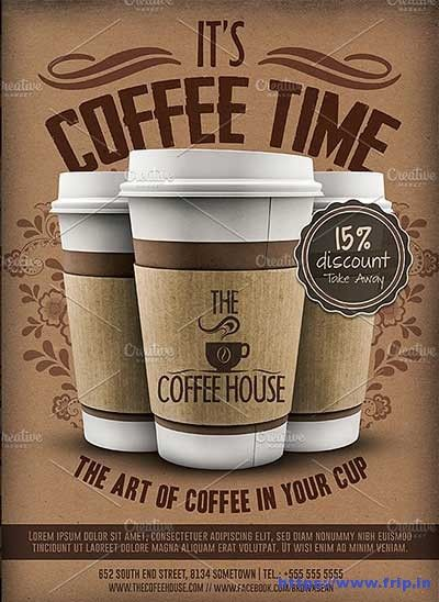 50 Best Coffee Shop Flyer Print Templates 2020 Coffee Shop Logo Coffee Shop Best Coffee Shop