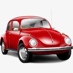 Red Vintage Car Volkswagen Volkswagen Beetle Old Classic Cars