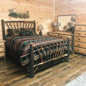Ideals On The Master Suite Furniture Log Bed Frame Pine Bedroom Furniture Wooden Bedroom Furniture