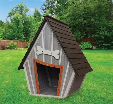Diy Dog House Plan Ideas You Ll Never Get The Dog That You Want You Ll Always Get The Dog That You Need S Dog House Diy Cool Dog Houses Wooden Dog