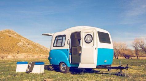 Petite mais pratique  Cette micro caravane a tout dune grande La preuve en 11 images