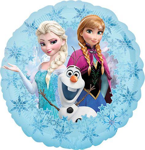 Disney Frozen Foil Balloons, 18 in.