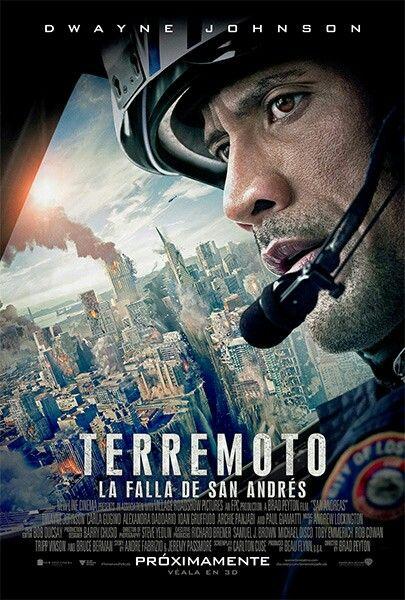 Terremoto La Falla De San Andres San Andreas Movie San Andreas Dwayne Johnson